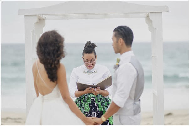 officiant, friend as an officiant
