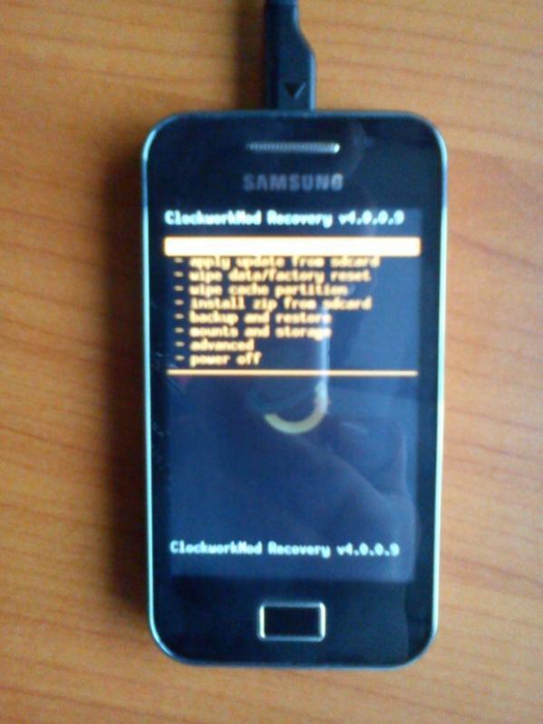 Foro: Instalar CWM Recovery a Samsung Galaxy Ace - Peru Android Foro