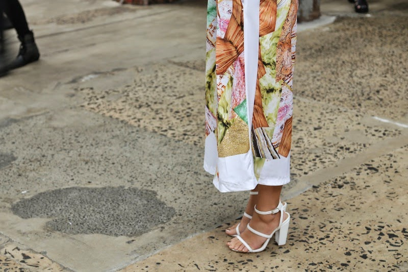 MBFWA, Street Style, Sydney, Australian Fashion Week, shoes, floral print