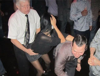 funniest picture: grandpa in a nightclub
