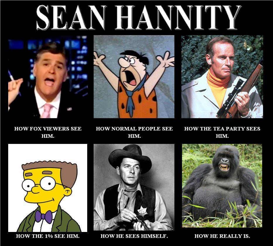 SeanHannity sean hannity goes on wild screaming fit at palestinian guest