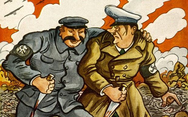 Stálin e Hitler