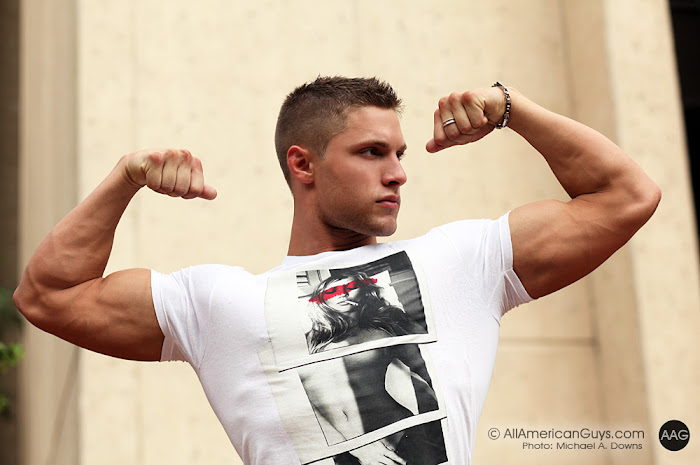 Picture About AAG Male Model Brock Yurich