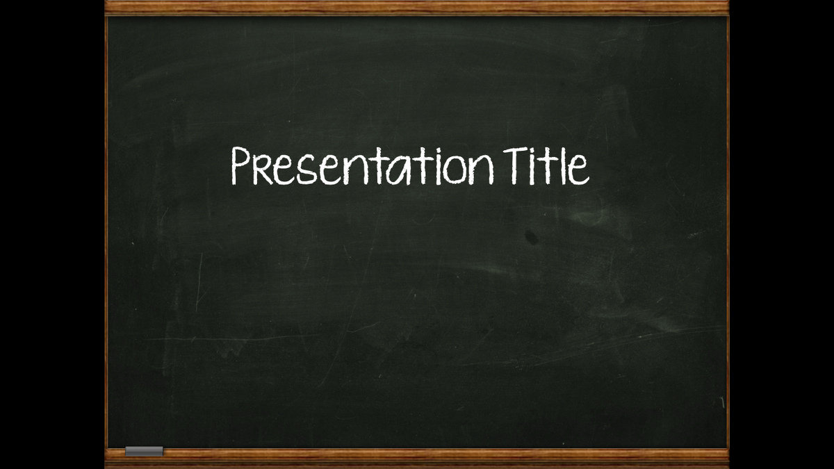 powerpoint chalkboard template - gse.bookbinder.co, Modern powerpoint