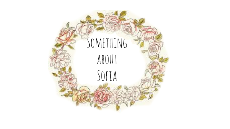 Something about Sofia