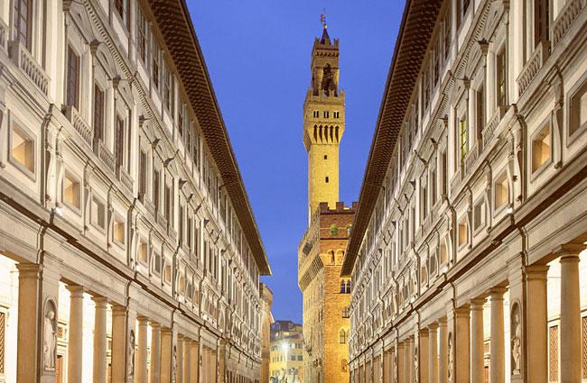 Museo Galleria uffizi di Firenze