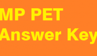 MP PET Answer Key