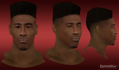 NBA 2K13 Iman Shumpert Cyberface Mod