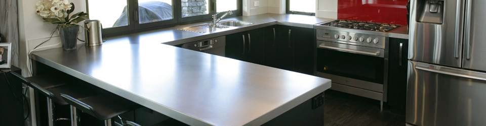 Beau Stainless Steel Benchtops