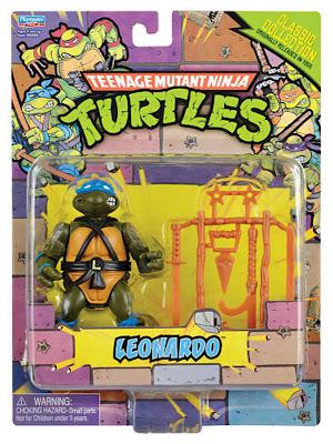 Playmates Teenage Mutant Ninja Turltles TMNT Classic Collection Leonardo Figure