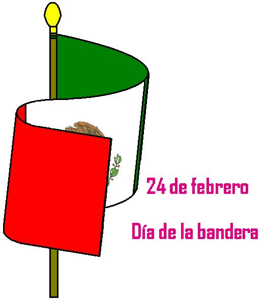 en méxico el día de la bandera la bandera mexicana es uno de los