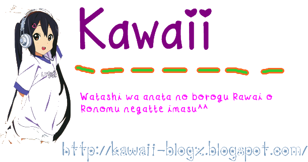 Kawaii     ( かわいい )