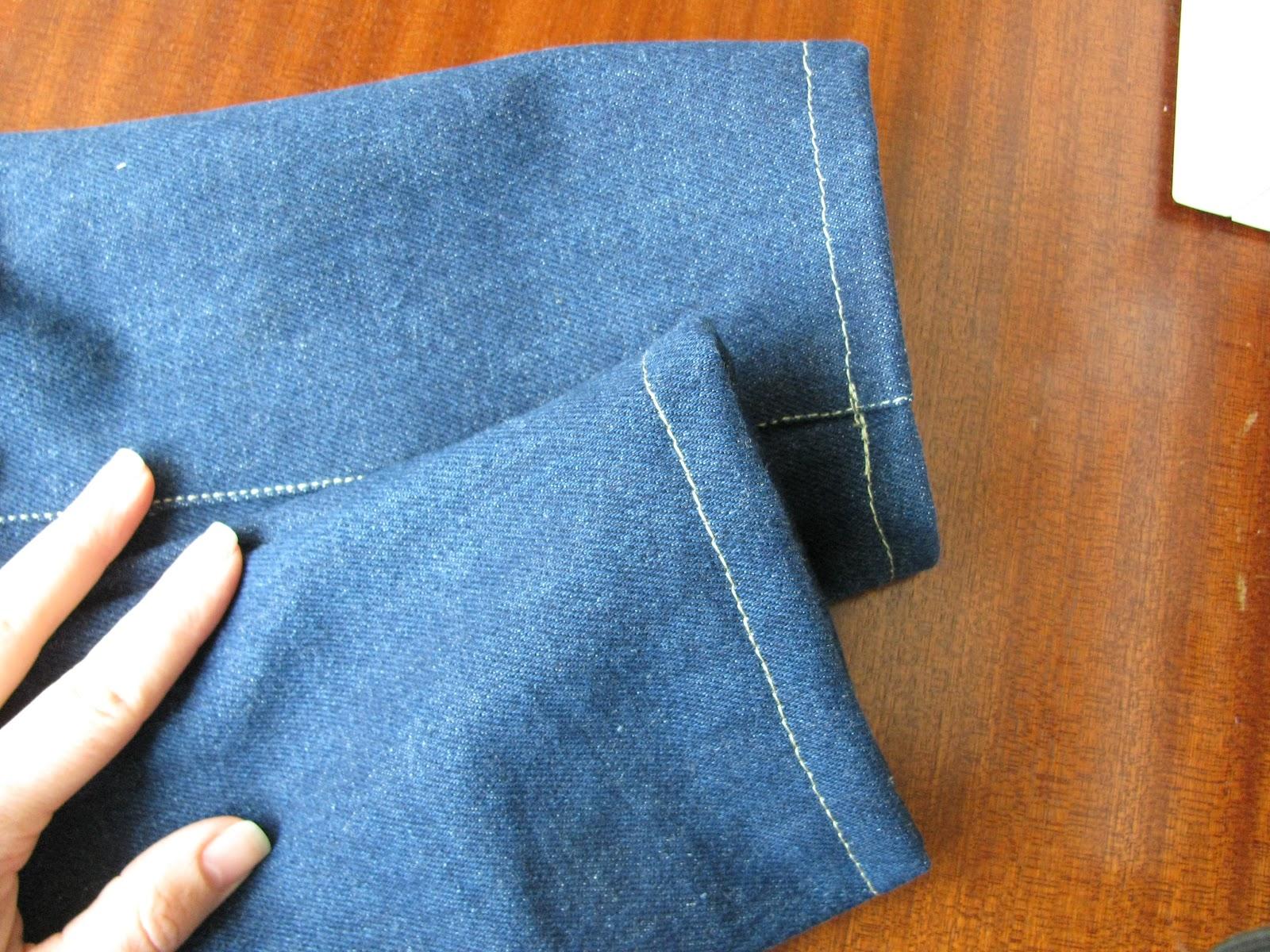 Сшить из брючной ткани