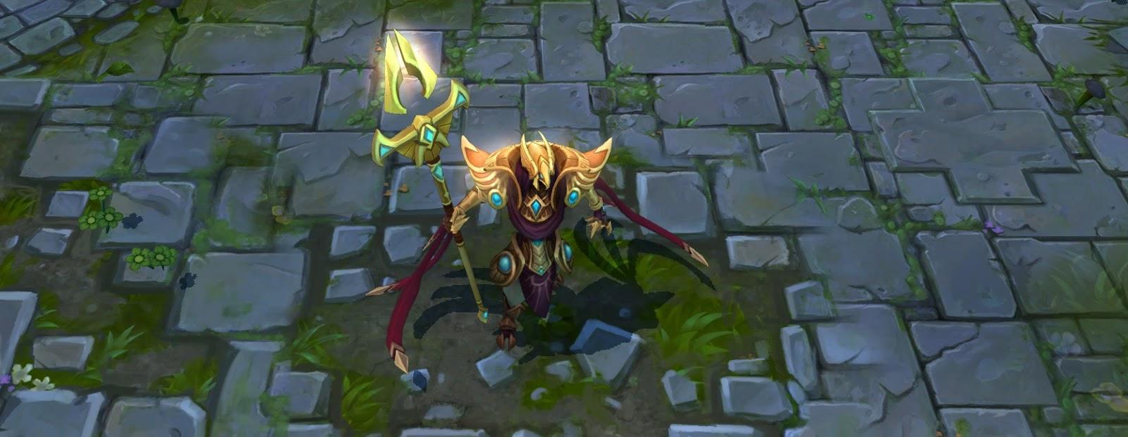 Azir - O imperador das areias [lol novo champion]