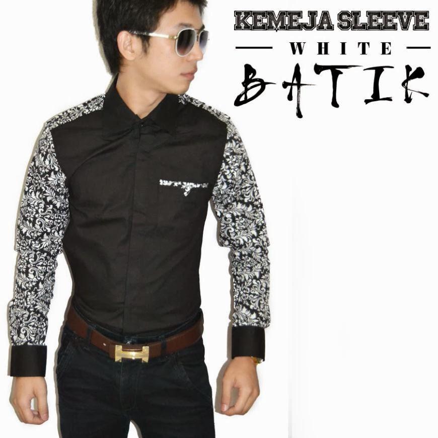Kemeja Comb Batik - Panjisipshop