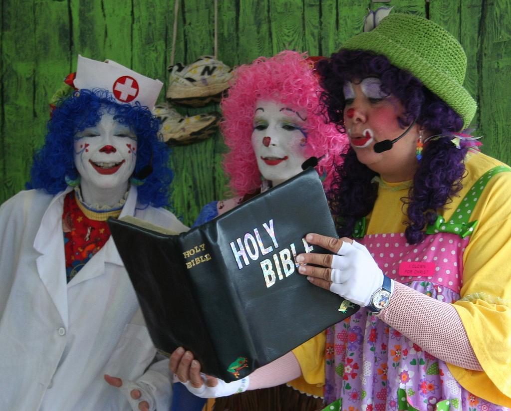 Ministry Ass Clown 44