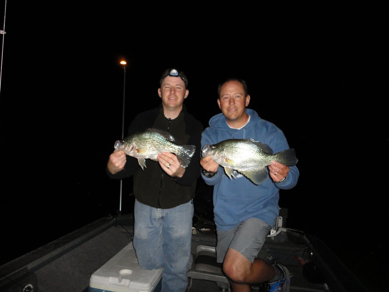 Jay scott outdoors night crappie fishing for Crappie fishing at night