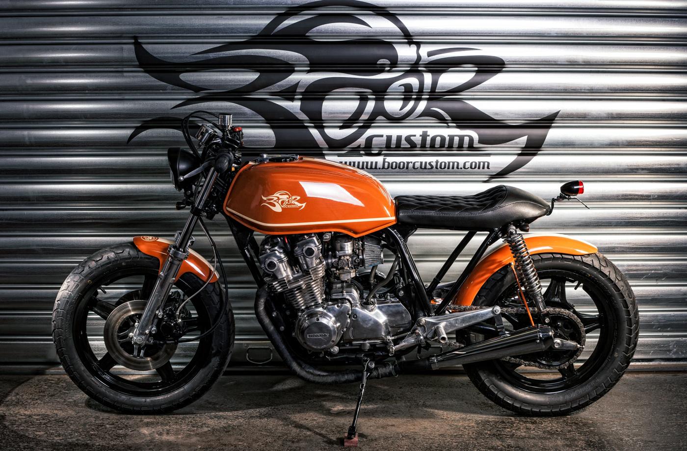 custom honda cb750kz by - photo #5