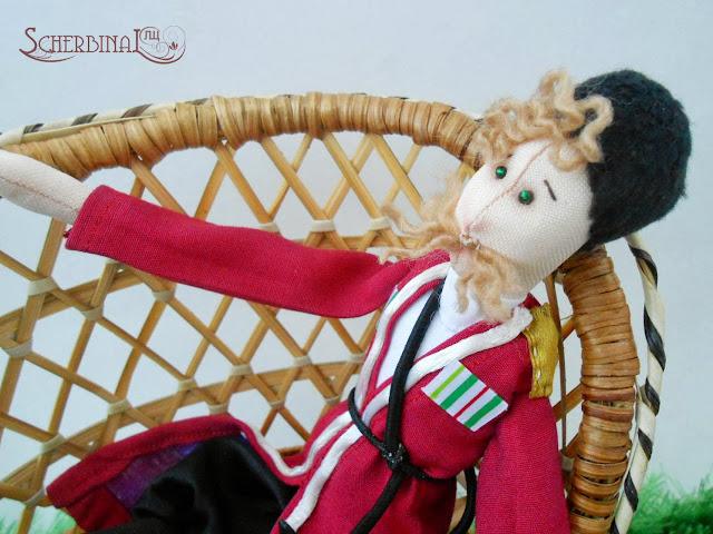 текстильная кукла Кубанский Казак