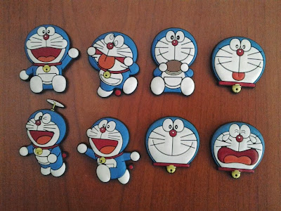 Fridge magnet doraemon