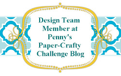 Penny&#39;s Paper-Crafty Challenge Blog DT Member
