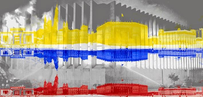 Colombia. 1985 Mis 10 años. Toma del Palacio de Justicia 2     Colombia. 1985 my 10 birthday.