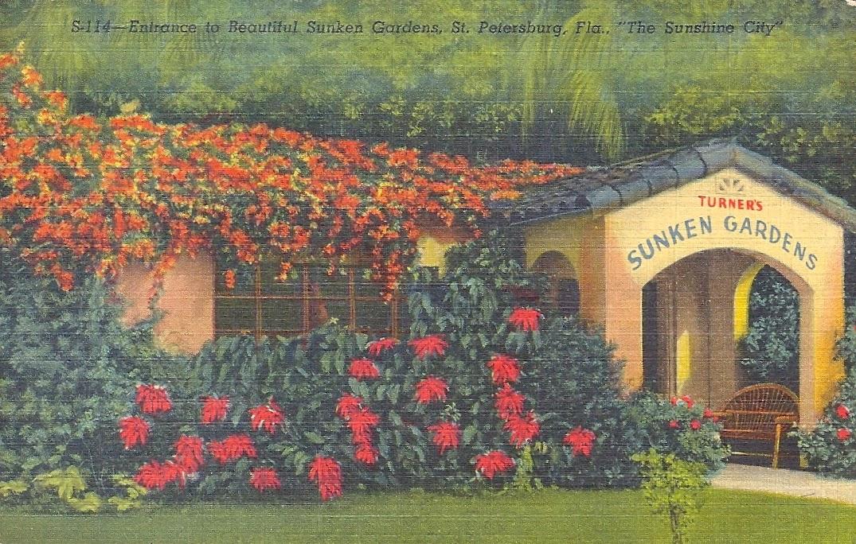 My Favorite Views Florida St Petersburg Sunken Gardens