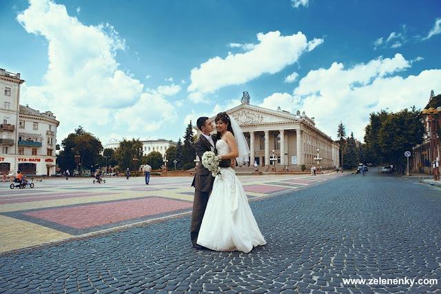 Весілля у Тернополі, фото Юри Зелененького, Україна