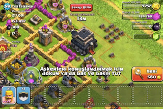 Clash of Clans ipad Hilesi 2013 indir