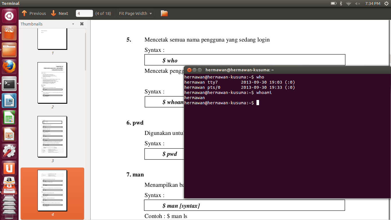 Blog Serbaguna: Perintah Dasar/Format Instruksi dalam Linux