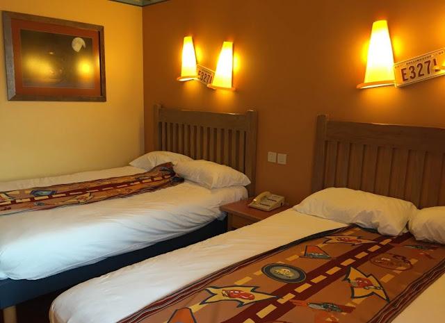 chambre double hôtel Santa Fe Disneyland Paris