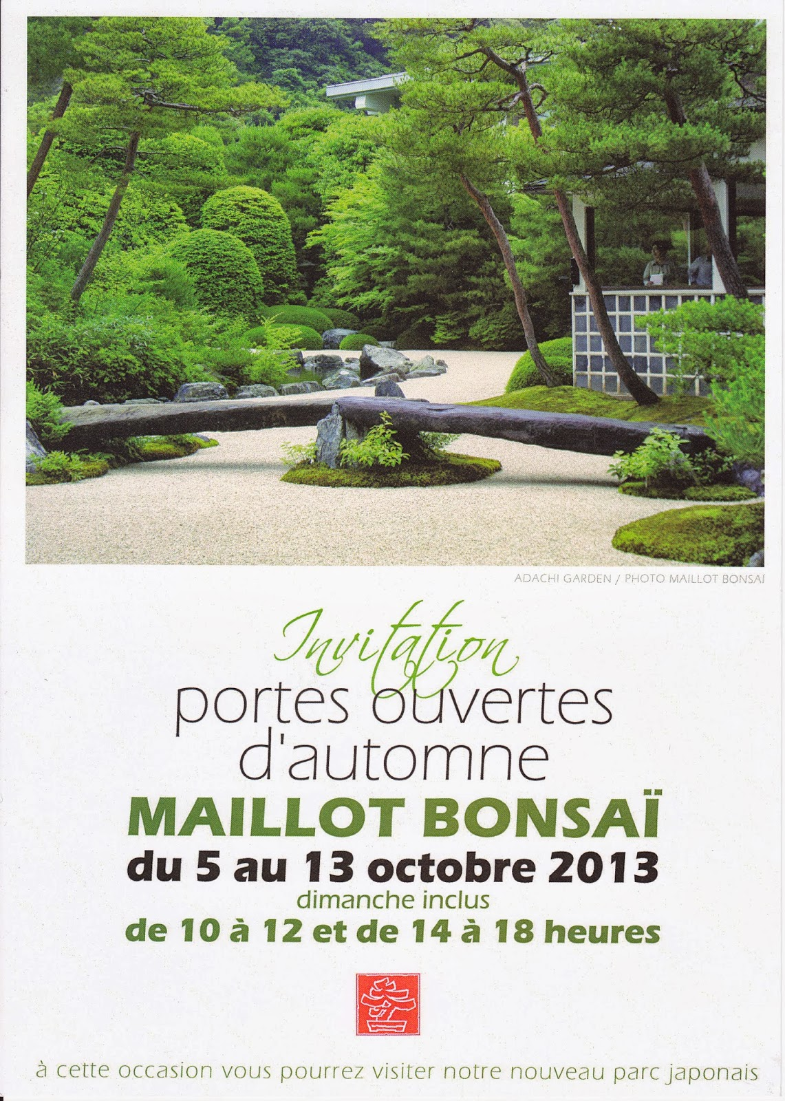 Blog ik bana art floral japonais hana isho des portes for Les jardins de la villa porte maillot