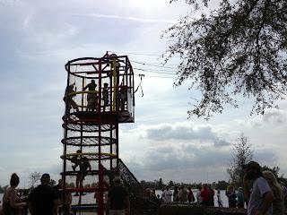 Climbing Structure at Renaissance Festival in Deerfield Beach