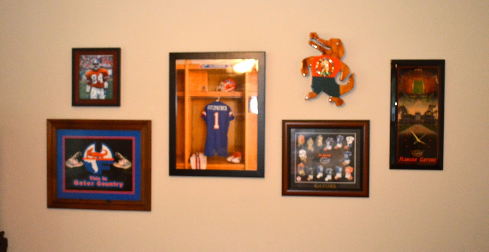 Splendid Spaces: Creating a Gallery Wall with Sports Memorabilia