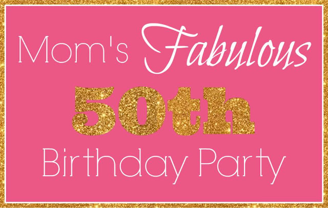 50th birthday banner
