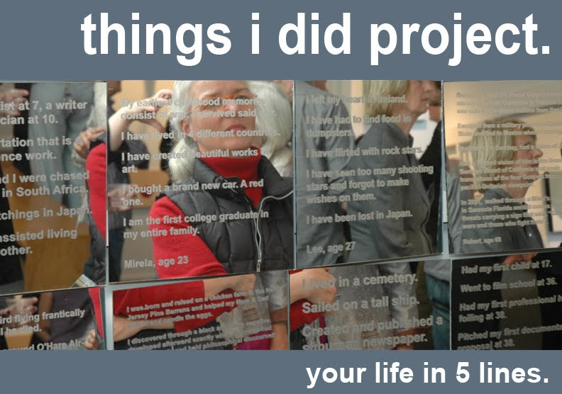 things i did project.