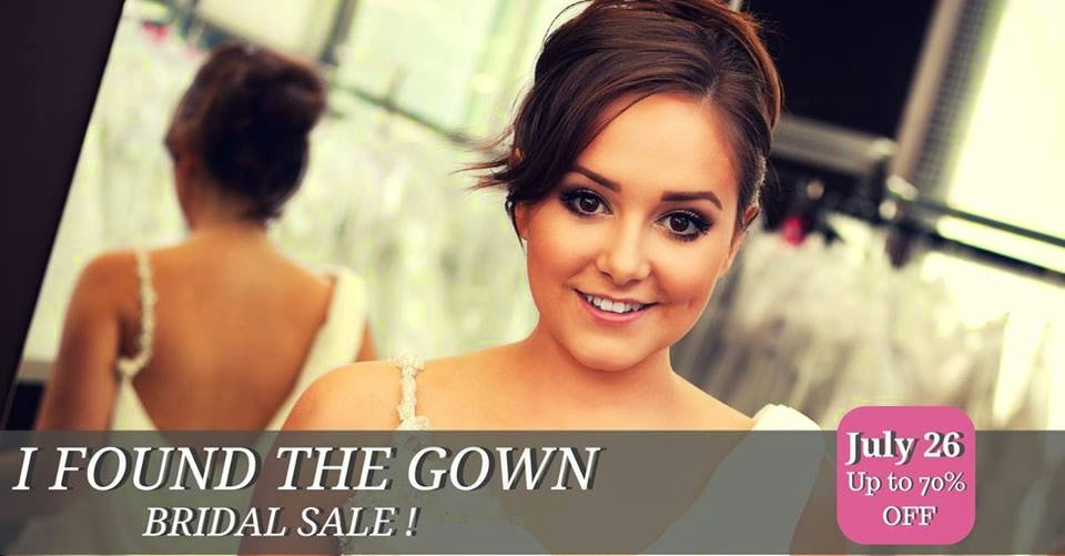 Dominique Levesque Bridal I Found the Gown Bridal Sale
