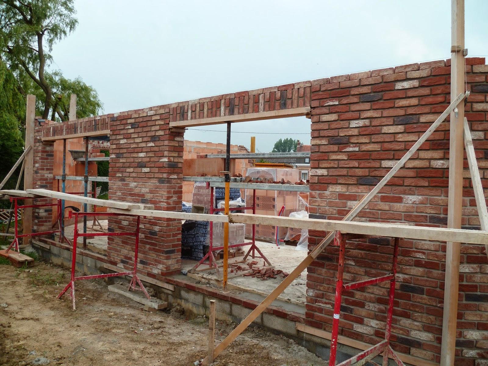 Notre maison estaires mai 2014 - Couper un mur en brique ...