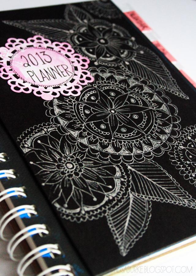 Homemade Calendar Cover : Alisaburke handmade calendar planner