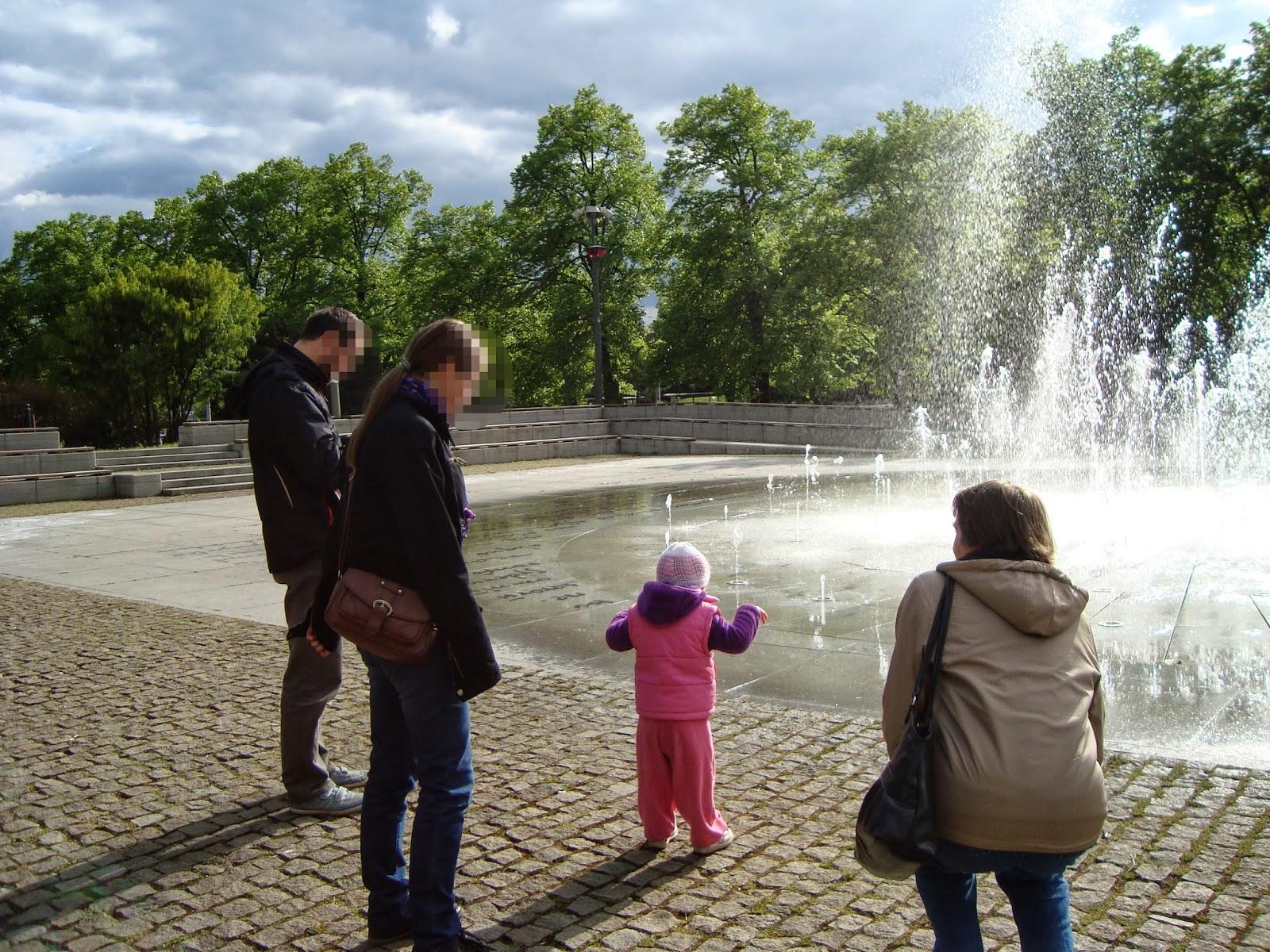 majówka, fontanna, cosmopolis, Toruń