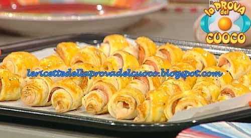 Cornetti friabili al salmone ricetta Moroni da La Prova del Cuoco