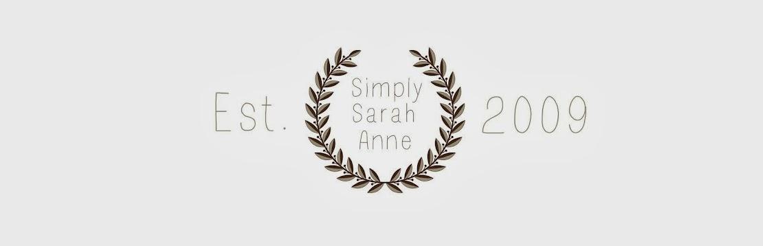 Simply Sarah-Anne