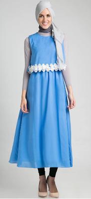 Contoh Gaun Pesta Modern untuk Remaja