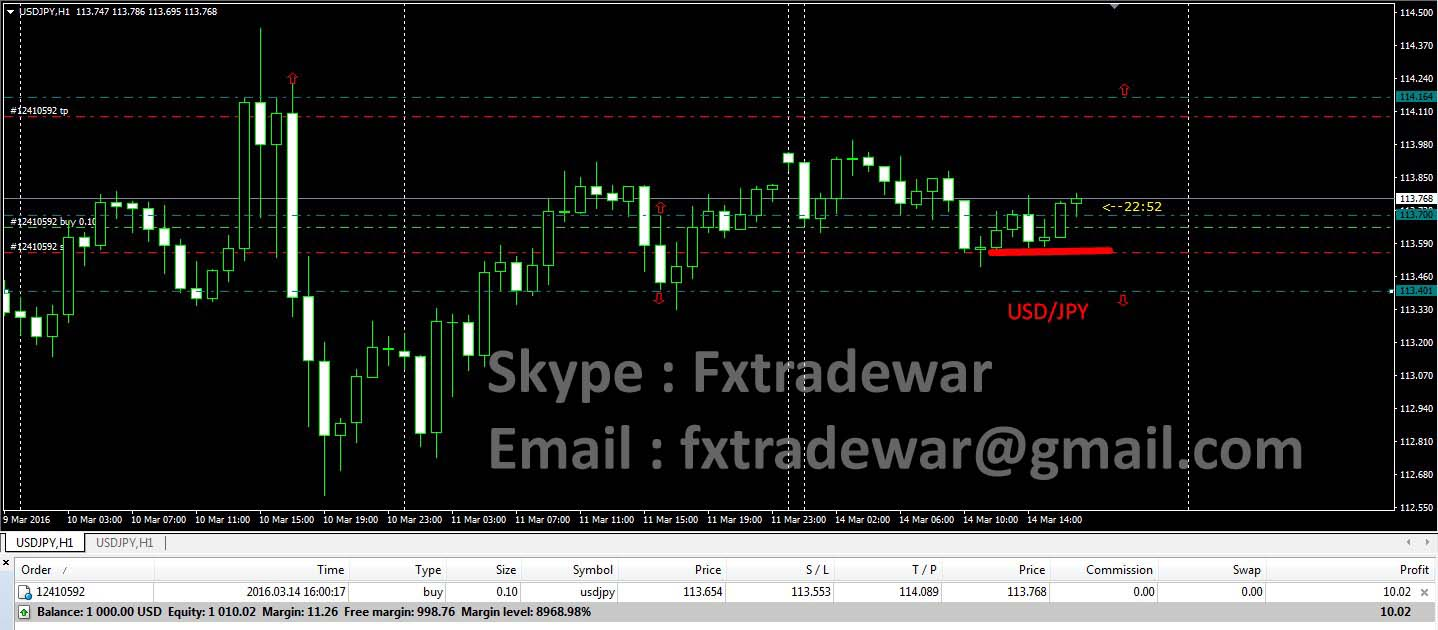 Forex money making system