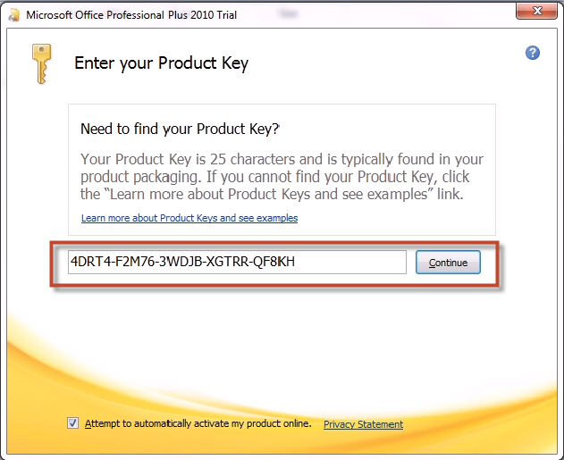 Hướng dẫn crack phần mềm Microsoft Office 2010