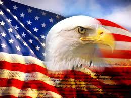 American flag theme.
