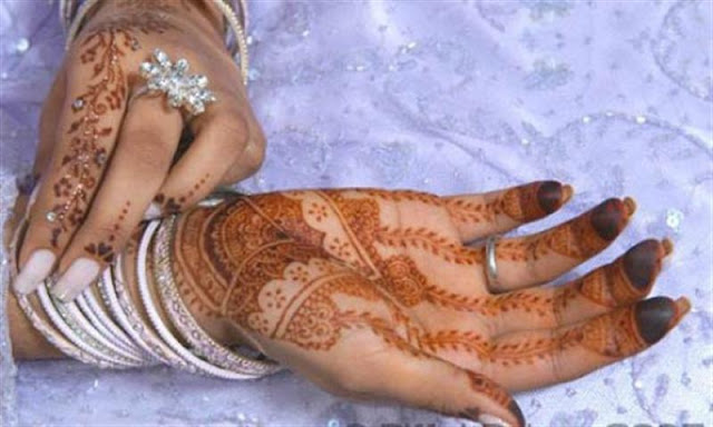 mehndi patterns and designs
