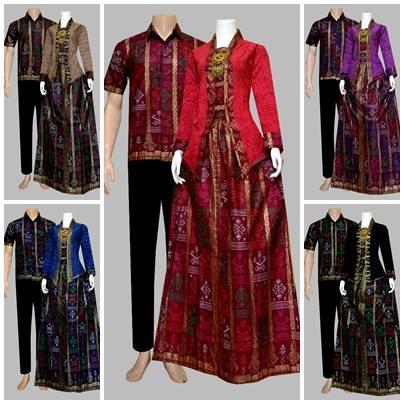 Model Baju Batik Gamis Sarimbit Batik Bagoes Solo