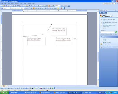 Cari Mengaktifkan Garis Pembatas Teks Atau Text Boundaries di Microsoft Office 2003