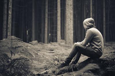 Chill dans une forêt